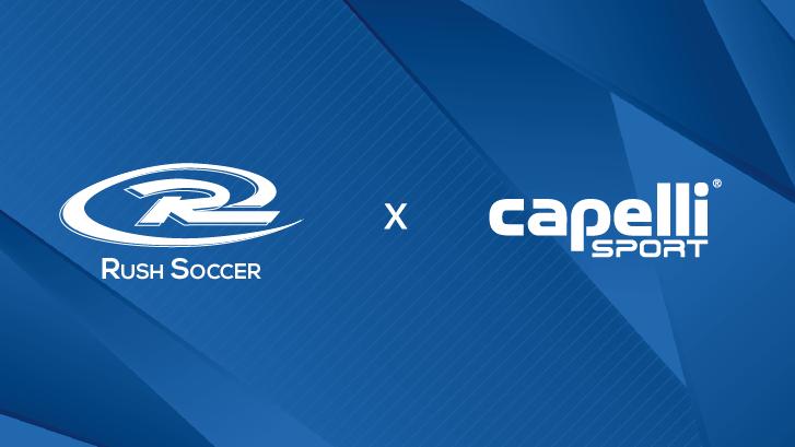 Rush Soccer and Capelli Sport Partnership