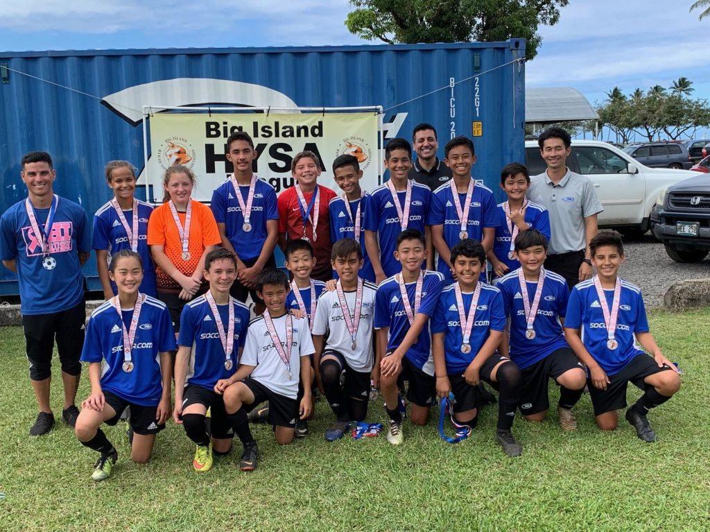 2005 U14 Boys Big Island HYSA Soccer Finalists