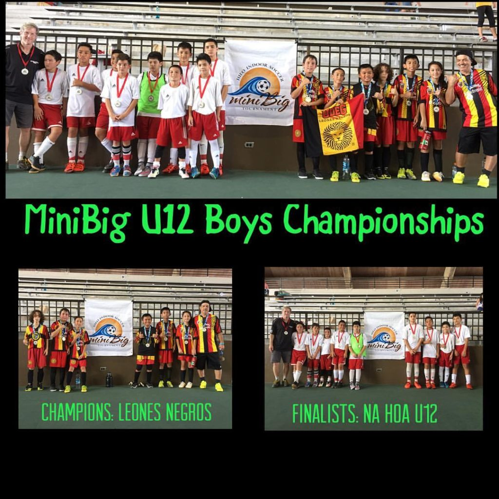 2017 miniBig U12 Boys Champions