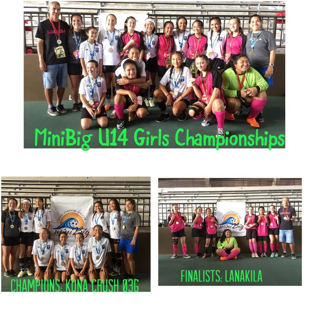 2017 miniBig U14 Girls Champions