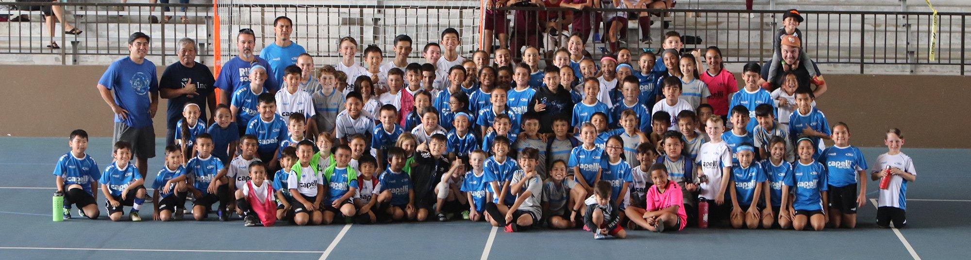 Hawaii Rush Big Island at the 2020 Hilo Mini Big Soccer Tournament