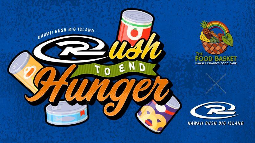 Hawaii Rush Big Island's Rush to End Hunger